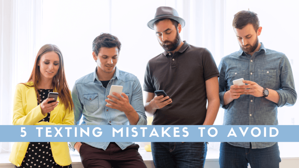 texting mistakes