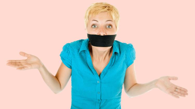 Stop self-censoring