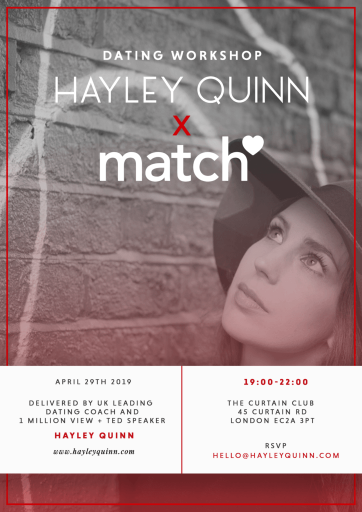 Hayley Quinn Match Dating Coach